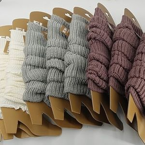 Accessories - Cute Leg Warmers - Color Options Available